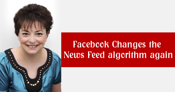 Facebook changes the News Feed algorithm again • Savvy ...