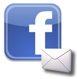 how to send fb messages to email