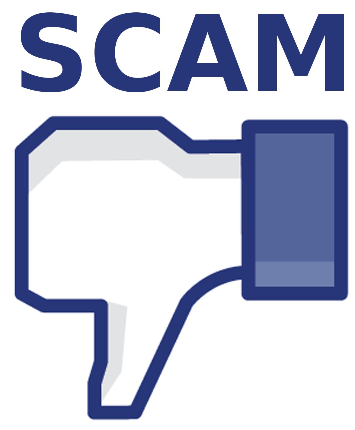 Image result for social media scams