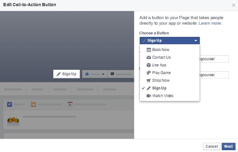 FacebookPageCallToActionButton1