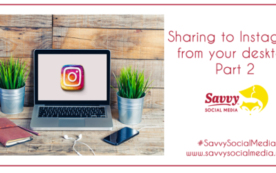 Sharing to Instagram from your desktop Part 2