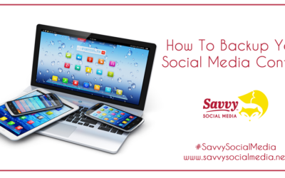 How To Backup Your Social Media Content