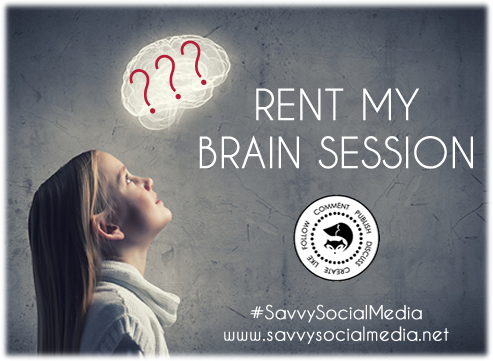 Savvy Social Media Rent My Brain