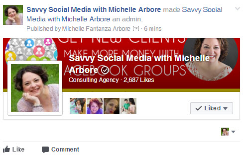 Linking Facebook Page to Facebook Group