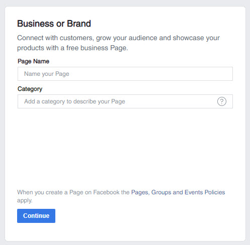 Creating A Facebook Business Page
