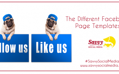 The Different Facebook Page Templates