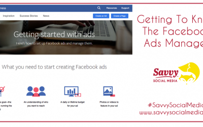 Getting To Know The Facebook Ads Manager