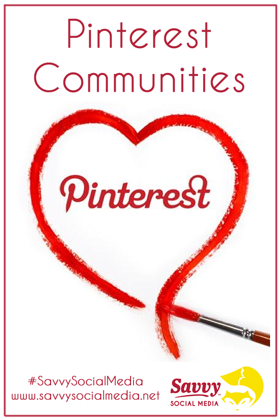 Pinterest Communities Are Here!!!! #Pinterest has quietly launched a new feature called #PinterestCommunities. Pinterest wants to be more like a #socialmedia platform instead of an image/content only marketing tool. It wants to be a place where users are inspired and take action. With communities, users can enjoy their experience more and become more inspired. | #SavvySocialMedia