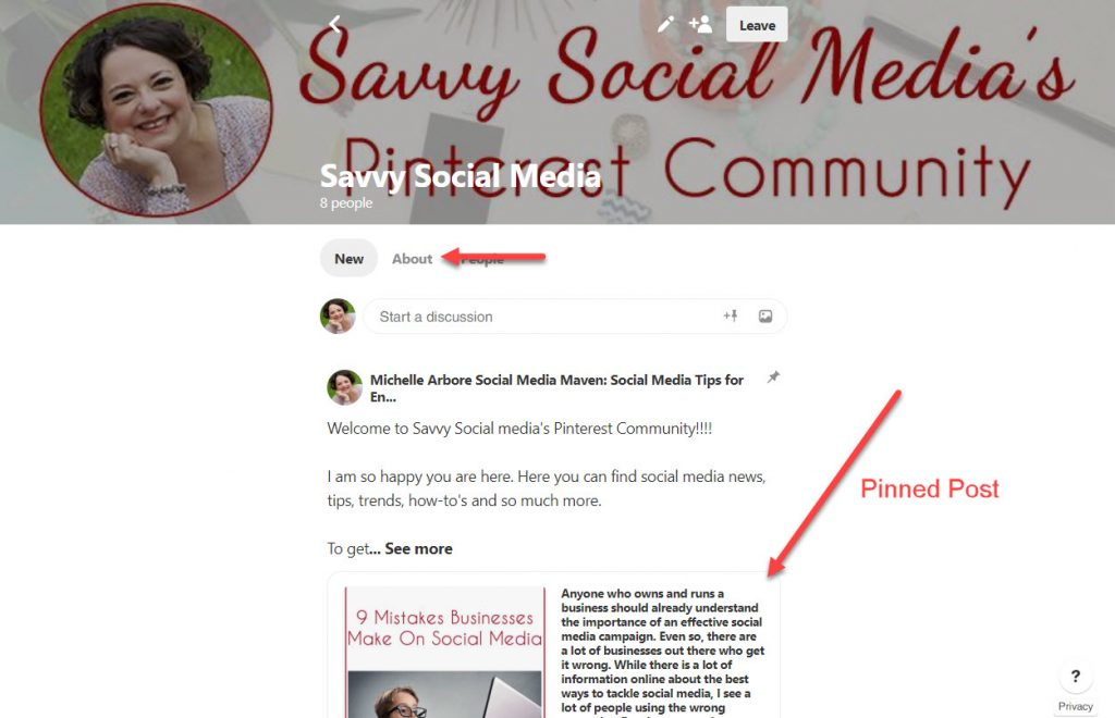 Pinterest Communities