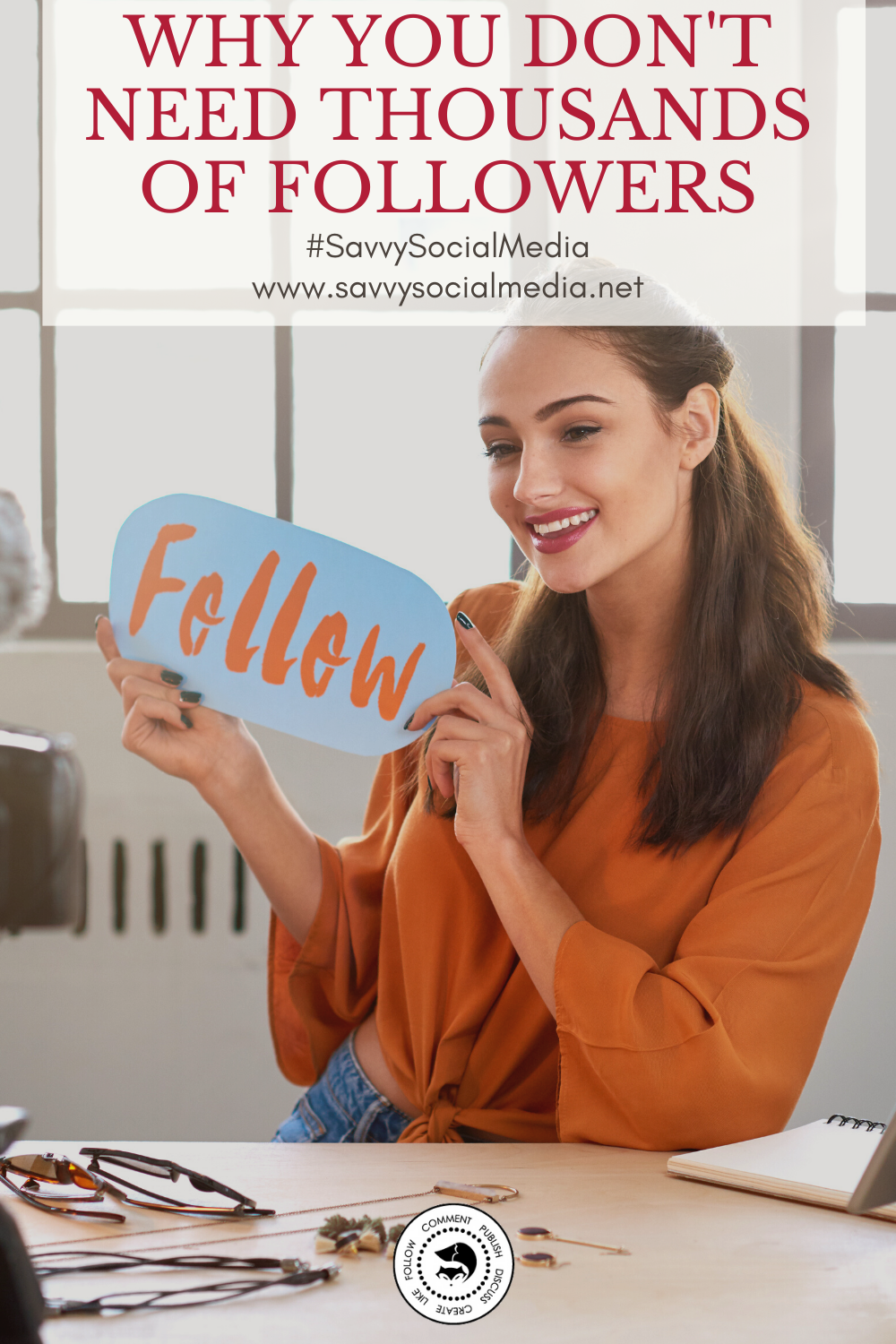 Big numbers on #socialmedia don't equal success. Social media is about connecting with your current and potential customers. It's about sharing valuable information and showing your expertise.