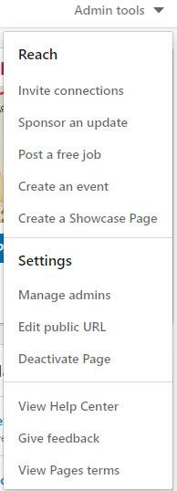 Creating a LinkedIn Company Page